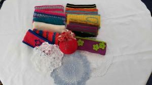 Sparber Beatrix - Stirnbänder, gehäckelte Dekorationen